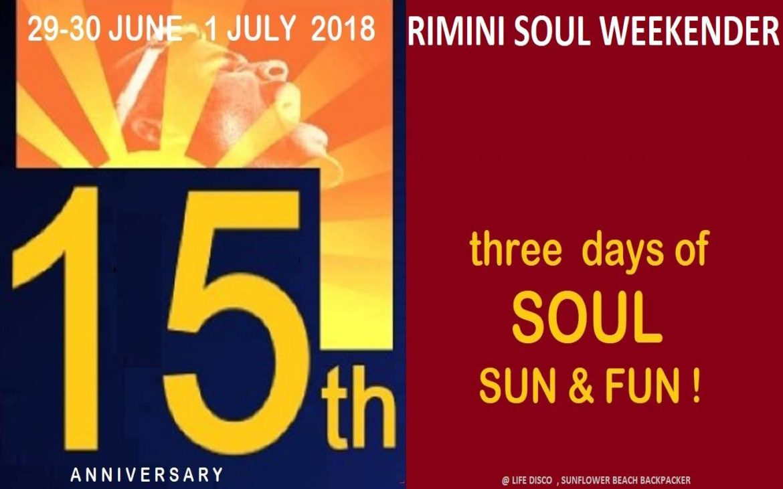 NEW COLOUR @  15th RIMINI SOUL WEEKENDER